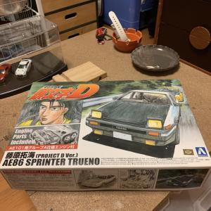 イニシャルD AE86トレノ