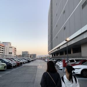 早朝より福岡へ
