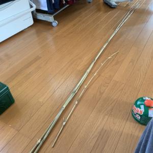 マブナ竿製作開始