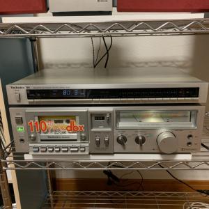 テクニクスカセットデッキM240X  S4チューナー