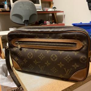 ルイヴィトンのセカンドバッグ