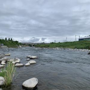 矢部川からおはようございます