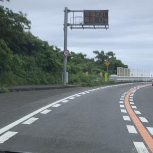 2021/06/18 大島大橋の風速と気温