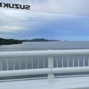 2021/07/23 大島大橋の風速と気温
