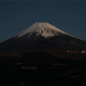 朝焼け富士 ~越前岳~