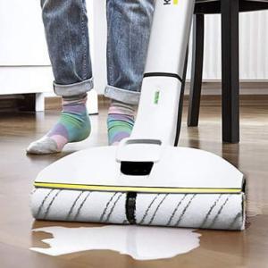 【花粉症対策】水拭きが簡単!ケルヒャー フロアクリーナーがおすすめ