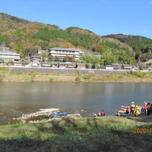 笠置山(紅葉)・銀の帯コース 後半