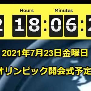 東京2021オリンピック開始予定カウントダウンタイマー2、作成概要