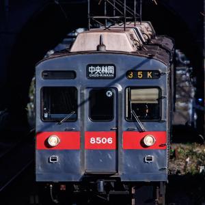田園都市線で消滅しそうな原型の電車を撮る