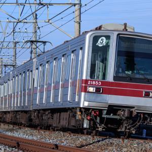 東武を走る異車長電車を撮って撮り収め(?)