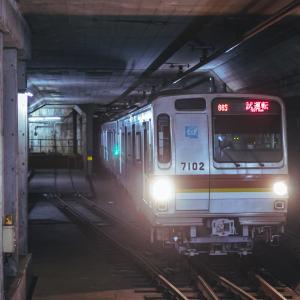 上下階どちらも広い駅(メトロ)