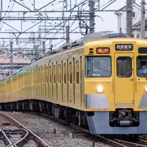 西武の幕車を撮る(新宿線)