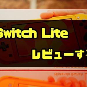 【Switch Liteレビュー】果たして持ち運びに便利なのは本当か!?