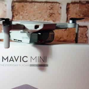 【200g以下ドローン】Mavic Miniの開梱しながら同梱品を紹介する