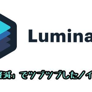 Luminar4「ノイズ軽減」の使い方 ツブツブノイズを取る方法