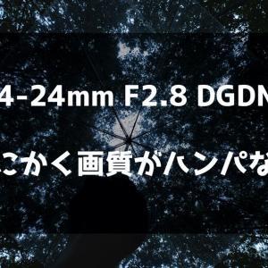 フルサイズEマウントの広角神レンズSIGMA14-24mmをレビューした