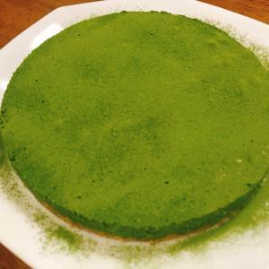 抹茶マシュマロチーズケーキ