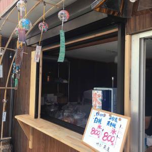 やぶ茶屋(愛知県豊田市)の白桃かき氷