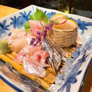 角上桜の夕食 長月 地魚会席 お糸路(おいとじ)
