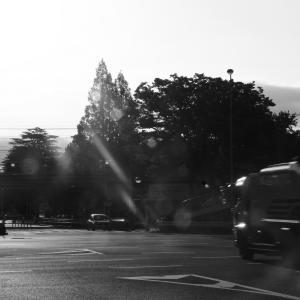 交差点にて。