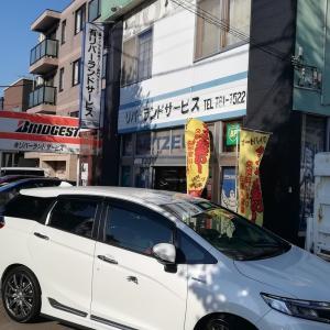 北海道にてバイク整備!