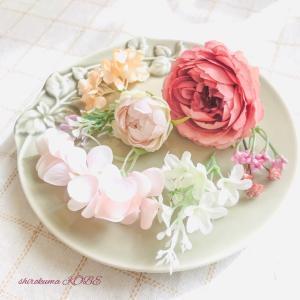 お部屋に飾れるモーブピンクのコサージュ販売スタート*卒業式・入学式・結婚式にも