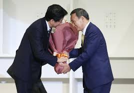 安倍総理から菅義偉総理へ #安倍総理ありがとう