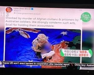 【捏造画像】モリソン首相の「中国政府は恥を知れ」謝罪要求!に対し華春瑩報道官の反論とは【シンガポールCNA】
