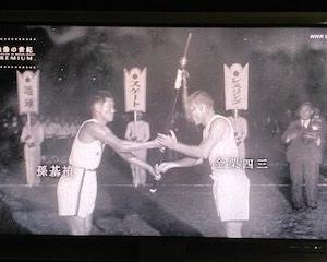 NHKナレ「ベルリンのスタジアムの記念碑、今も孫基禎が日本の金メダリストとして刻まれたままである」(・・;)【映像の世紀プレミアム】