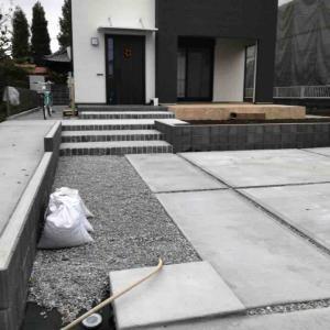 コンクリート土間の掃除