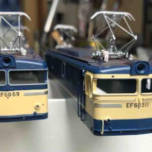 16番 EF60アクラス製の加工