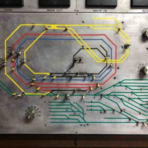 16番レイアウト コントロールボードの修理