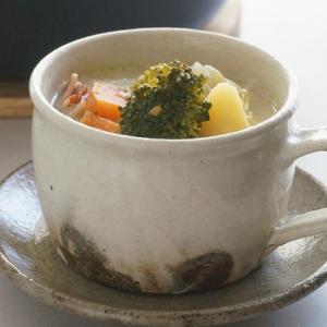 我が家の定番~♪具だくさん豆乳スープ