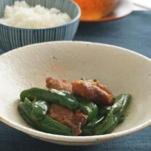 唐揚げとピーマンの麺つゆ炒め