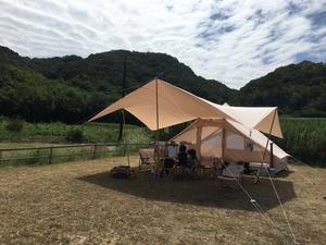 (30)岡山でお買い物キャンプ!【オートキャンプ場浦島】