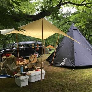 (26) 梅雨ど真ん中、くぬぎの森【休暇村帝釈峡】