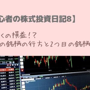 【超初心者の株式投資日記8】初めての銘柄の行方と2つ目の銘柄買付