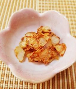 食物繊維たっぷり!玉こんにゃくで簡単!ガーリック醤油味とコンソメ味のサクサクこんにゃくチップスの作り方。