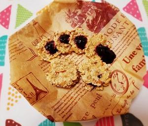 グルテンフリー、砂糖、乳製品不使用。オートミールアーモンドクッキーの作り方。
