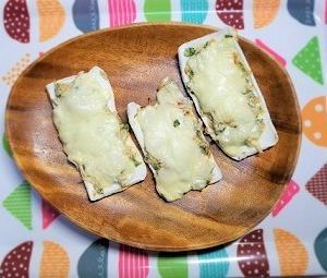 骨を強くする食事。糖質制限メニュー。しらすの和風ピザの作り方。