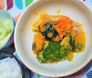 緑黄色野菜が沢山とれる。気虚体質改善、野菜たっぷり鶏肉のみぞれ煮の作り方。