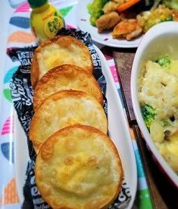 カルシウムがとれるしらすのポテトチーズ揚げ餃子の作り方。減塩について。