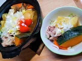 風邪の治りかけに。にんにくと生姜たっぷり鍋の作り方。