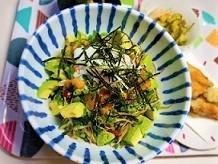 ウンチがモリモリ出るレシピ。ゴボウ納豆キムチ丼の作り方。