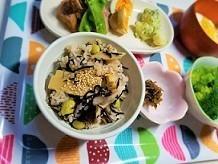たけのこのの水煮で、腸内環境を整える、ひじきと枝豆の竹の子ご飯の作り方。