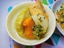 野菜がとれる山椒冷やしおでんの作り方。