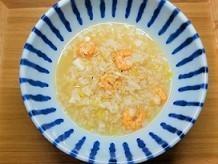 代謝アップ。炊飯器で簡単!体を温める海老の薬膳粥の作り方。