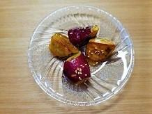 【うんちがモリモリでるオヤツ】冷やし大学芋の作り方。