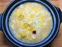 【薬膳】気を養うサツマイモの塩麴雑炊の作り方。