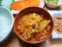 家にある野菜でデトックススープの作り方。